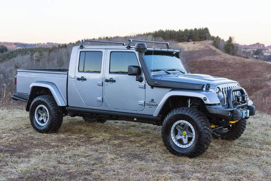 Off Road Amp 4x4 Images Videos Jeep Jk Brute Double Cab