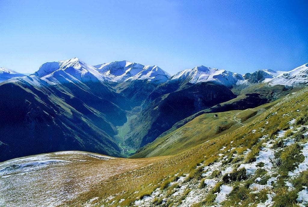 Paesaggi di montagna - Parco Nazionale dei Monti Sibillini - Regione Marche