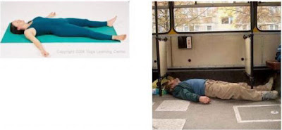 Yoga Positions Vs Liquor Positions Savasana+yoga