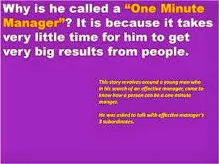 The One Minute Manager PPT Slide 1