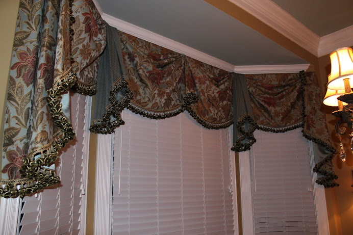 My Window Treatment Creations!