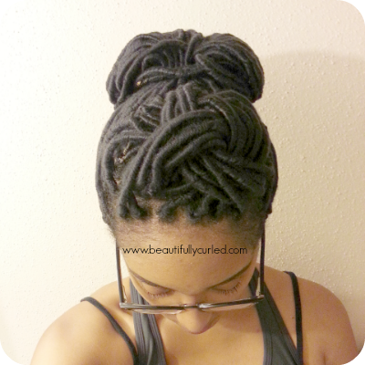 Beautifully Curled: Styling Yarn Wraps