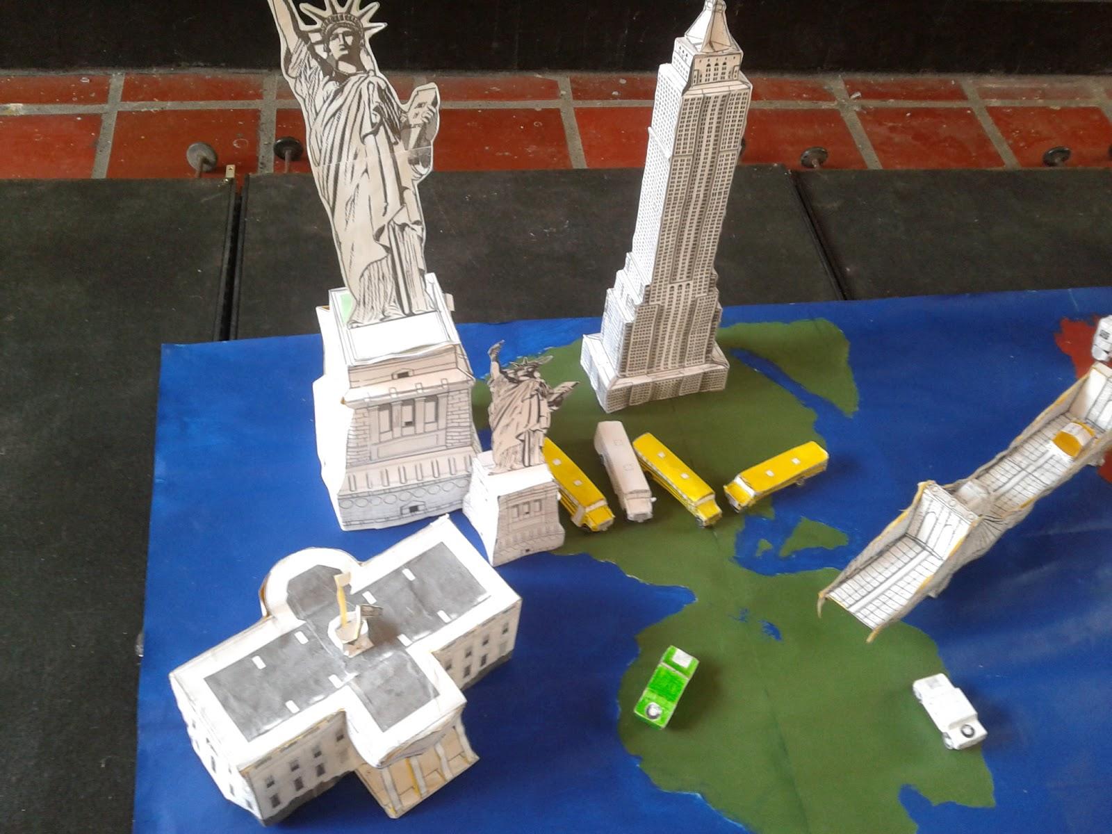 estructuras en papel
