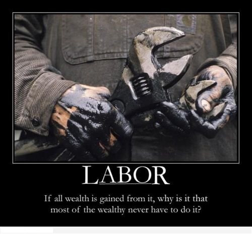 A Pictures Of The Working-Hard Hand Carrying A Wrench With The Labor Day Questions