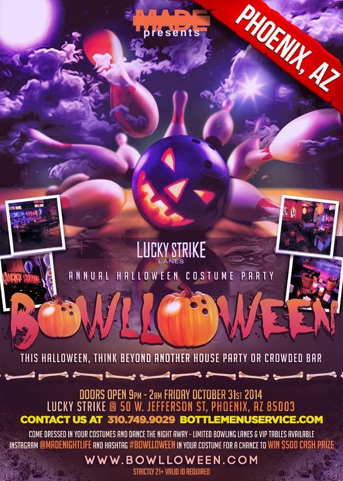"""""""Bowlloween 2014 Phoenix Halloween"""""""