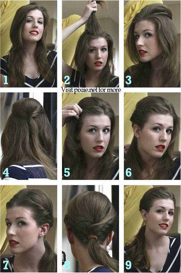Hair Pixiie: DIY Vintage Hairstyles