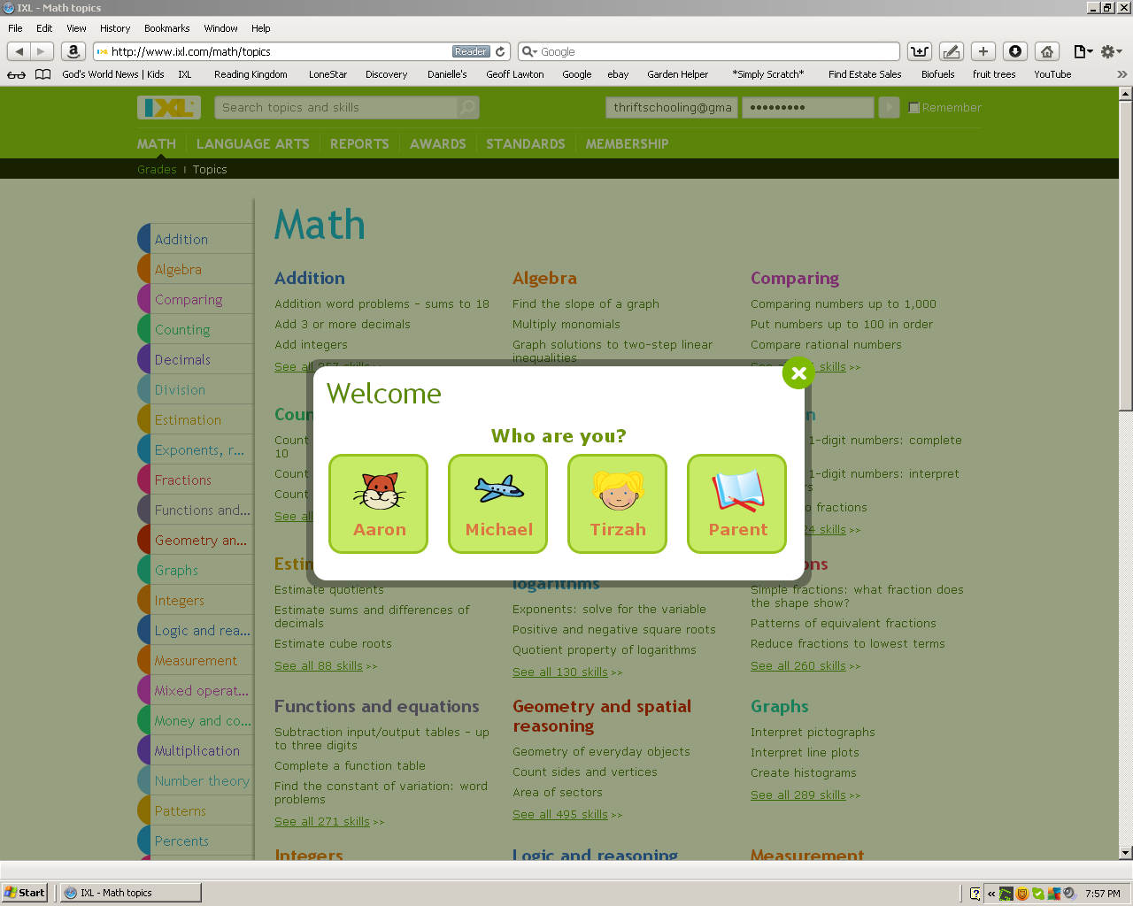 Ixl Math Worksheets & ixl math and language arts review weiser academy