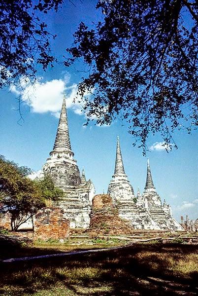 Three Chedis, Ayutthaya