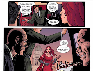Page 10 of DC Comics Bombshells #18 featuring Batwoman