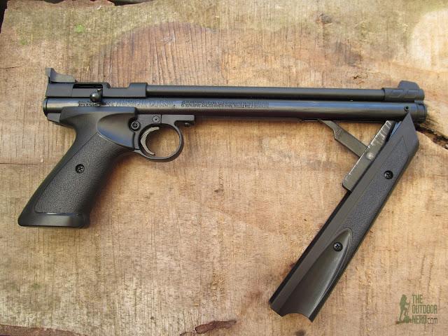 Crosman 1322 Air Pistol - Product View 9