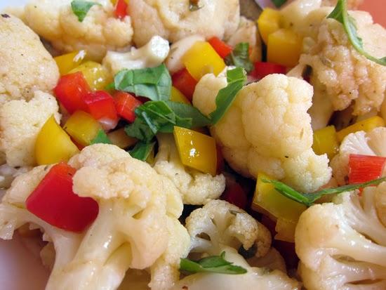 капуста цветная салат рецепт