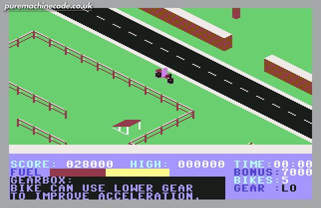 Action Biker, C64