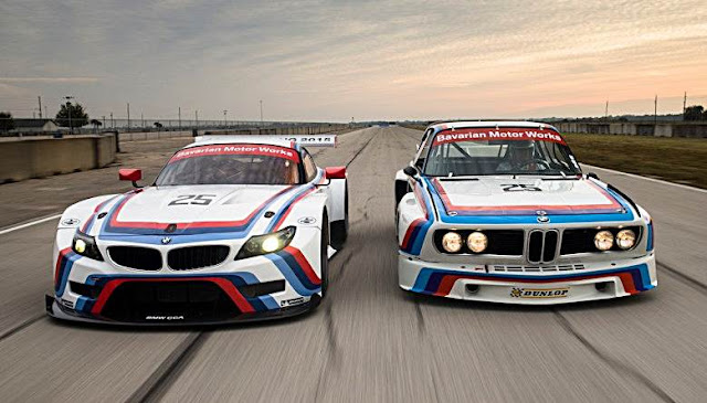 "BMW Pays Tribute to ""Batmobile"" 3.0 CSL with New Z4 GTLM Livery"