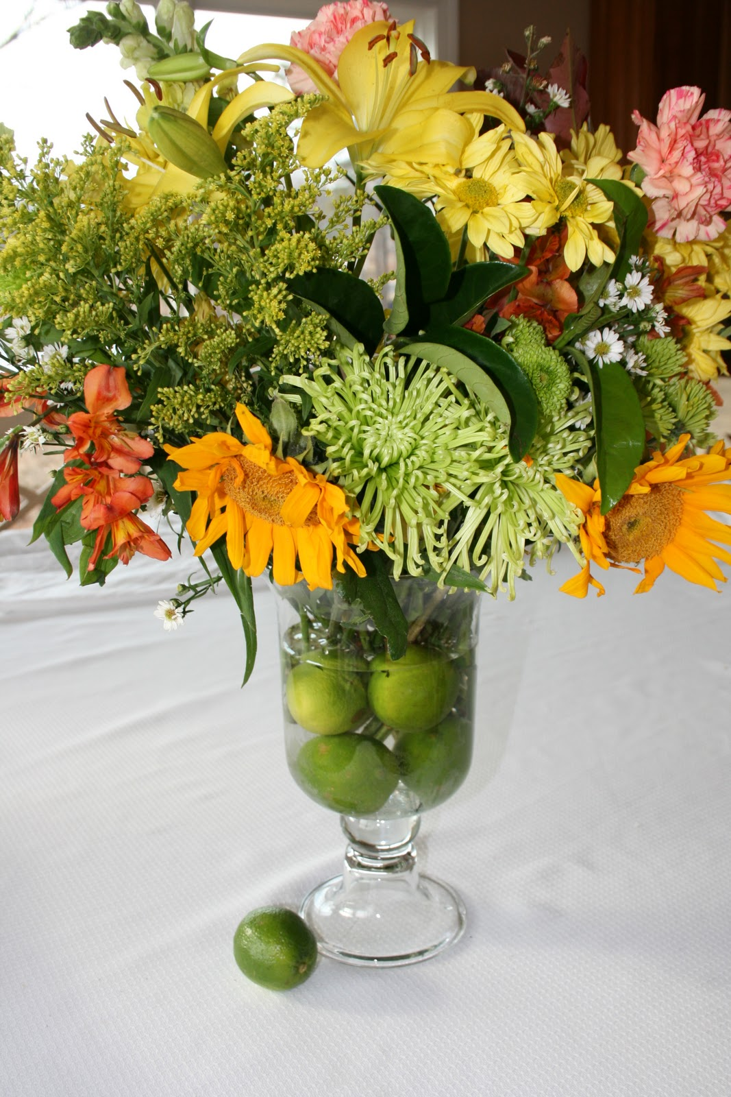 Flower arrangements with fruit karen cromwell Floral arrangements with fruit