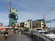 [Las Vegas] MGM Grand y sus leones. (dscn )