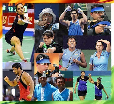 Indian Athletes who may win Medals in Olympics 2012