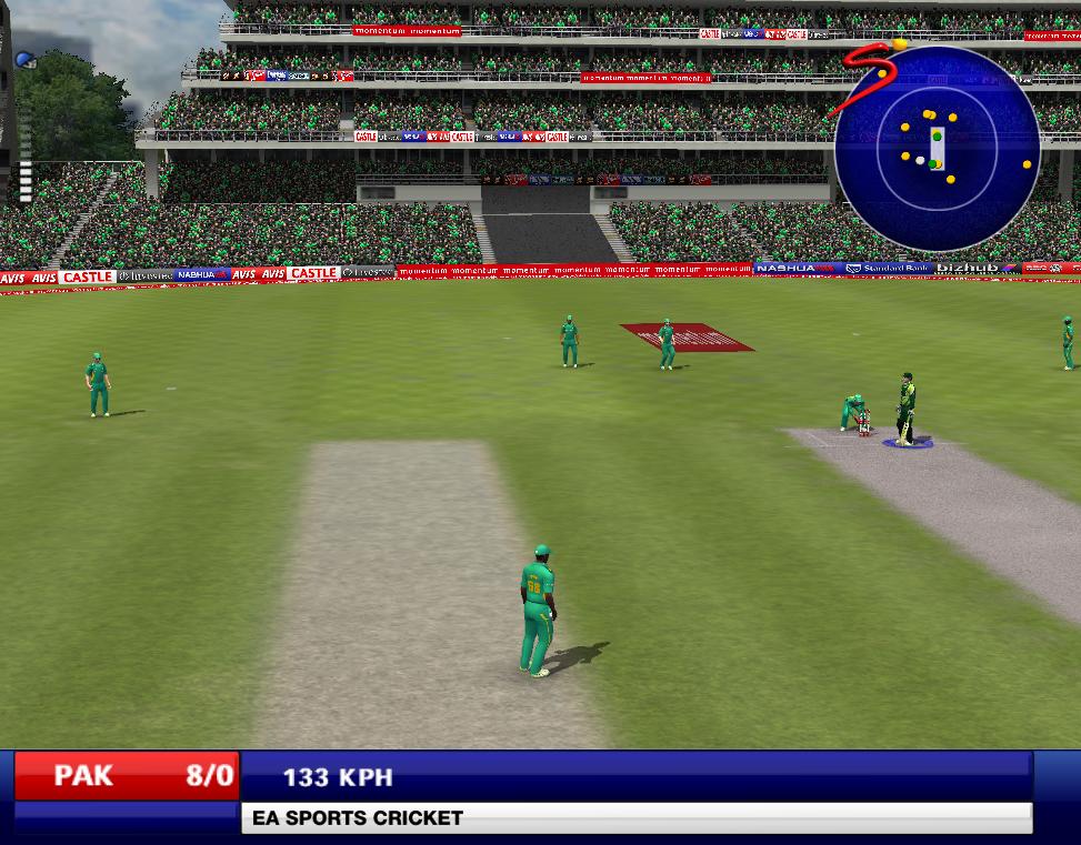 International stadium patch for cricket 07