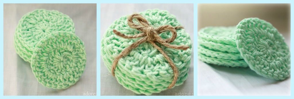 That Morris Family Free Pattern Crocheted Face Scrubbers