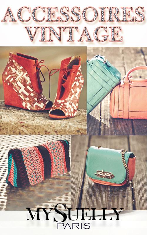 Sacs et accessoires tendance vintage MySuelly