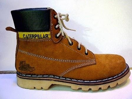 Caterpillar High Tan,Sepatu Manggung,Sepatu Santai,Sepatu Jalan