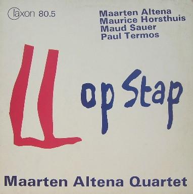 Maarten Altena Quartet Op Stap