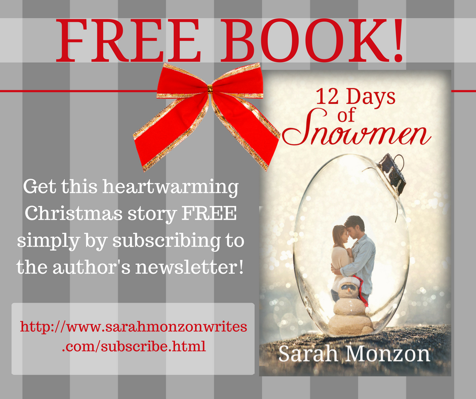 Free Book from Sarah Monzon!