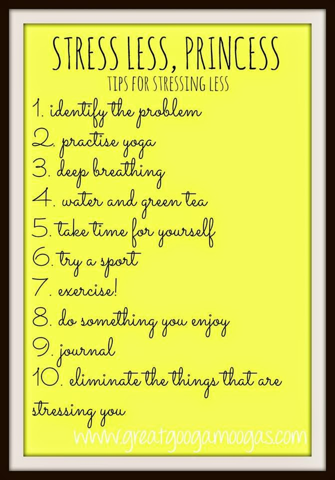 Simple tips for destressing