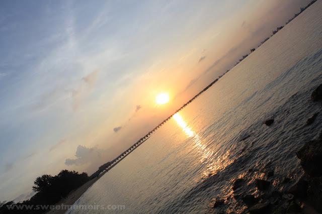sunrise at east coast beach