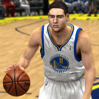 NBA 2K13 Klay Thompson Cyberface Patches NBA2K