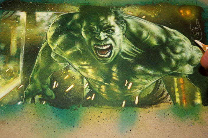 The Incredible Hulk, Copyright © 2014 Jeff Lafferty