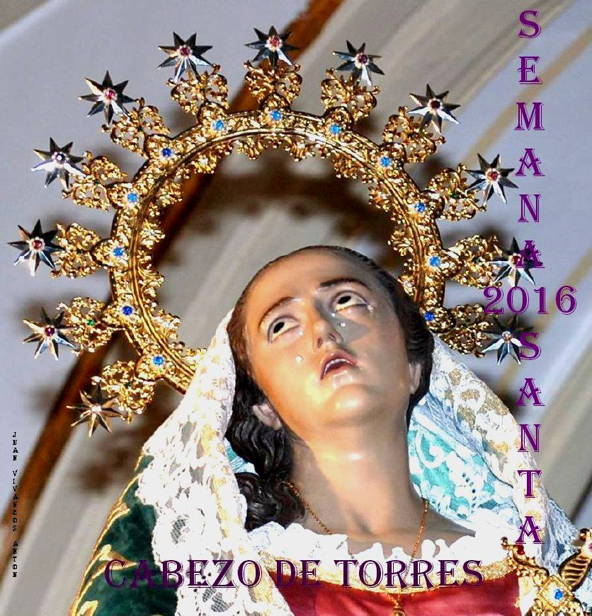 Cartel Semana Santa 2016 Cabezo de Torres