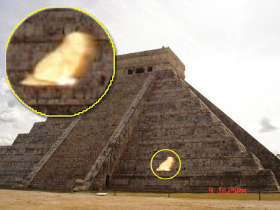 Real Ghost Photo: Mayan Mysterious Phantom