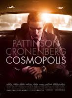 Cartaz do filme Cosmopolis, com robert pattinson