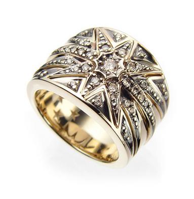 German Wedding Rings 84 Vintage Ring in karat gold