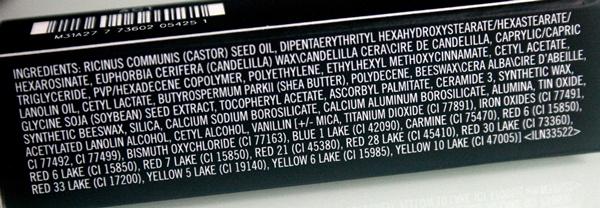 MAC Jubilee Lipstick Ingredients