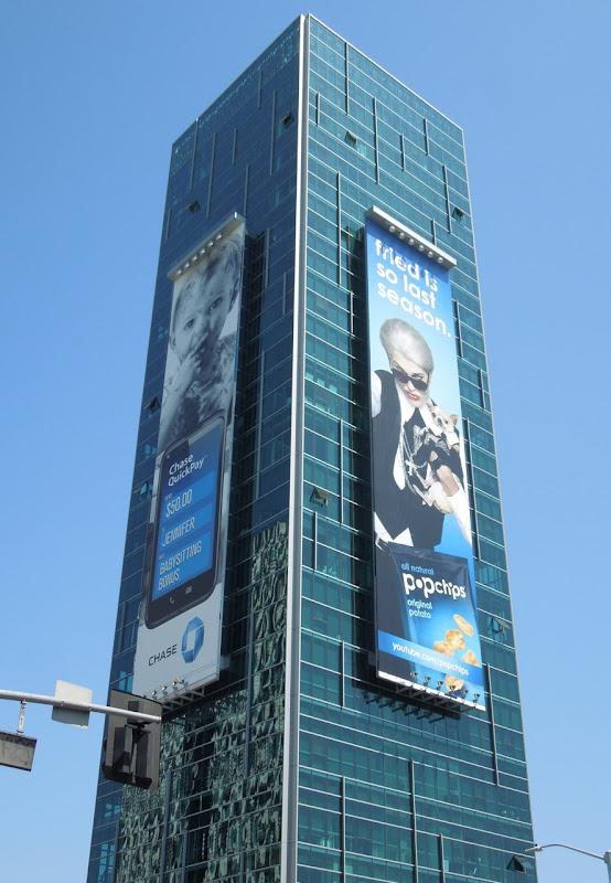 Ashton Kutcher Popchips billboard