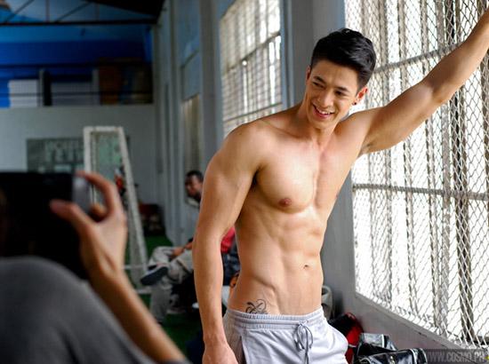 2016 l Mr World l Philippines l Sam Ajdani Behind+the+scenes+photo+shoot+of+Sam+Ajdani+for+Cosmopolitan+Magazine+Centerfold+Men+2013+10