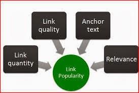 link popularity