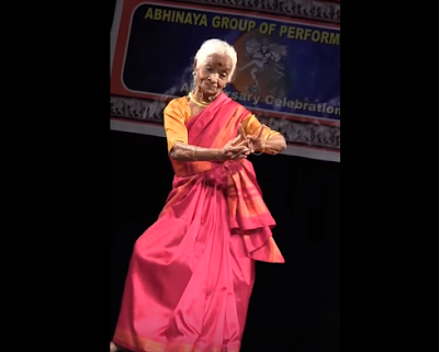 Noted dancer Bhanumathi Rao performed graceful  Bharatanatyam on December 5 in Bangalore, a day after she turned 92.    The poise and physical agility she demonstrated at a function organised by Upaasana Academy Of Classical Dance & Music stunned viewers who struggled to guess her age.
