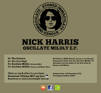 Nick Harris Oscillate Mildly EP Stoned Immaculate