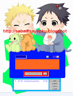 Download MP3 Player Naruto & Sasuke Baby v.2
