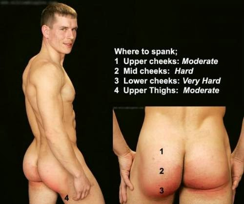 And what correct way to spank get one