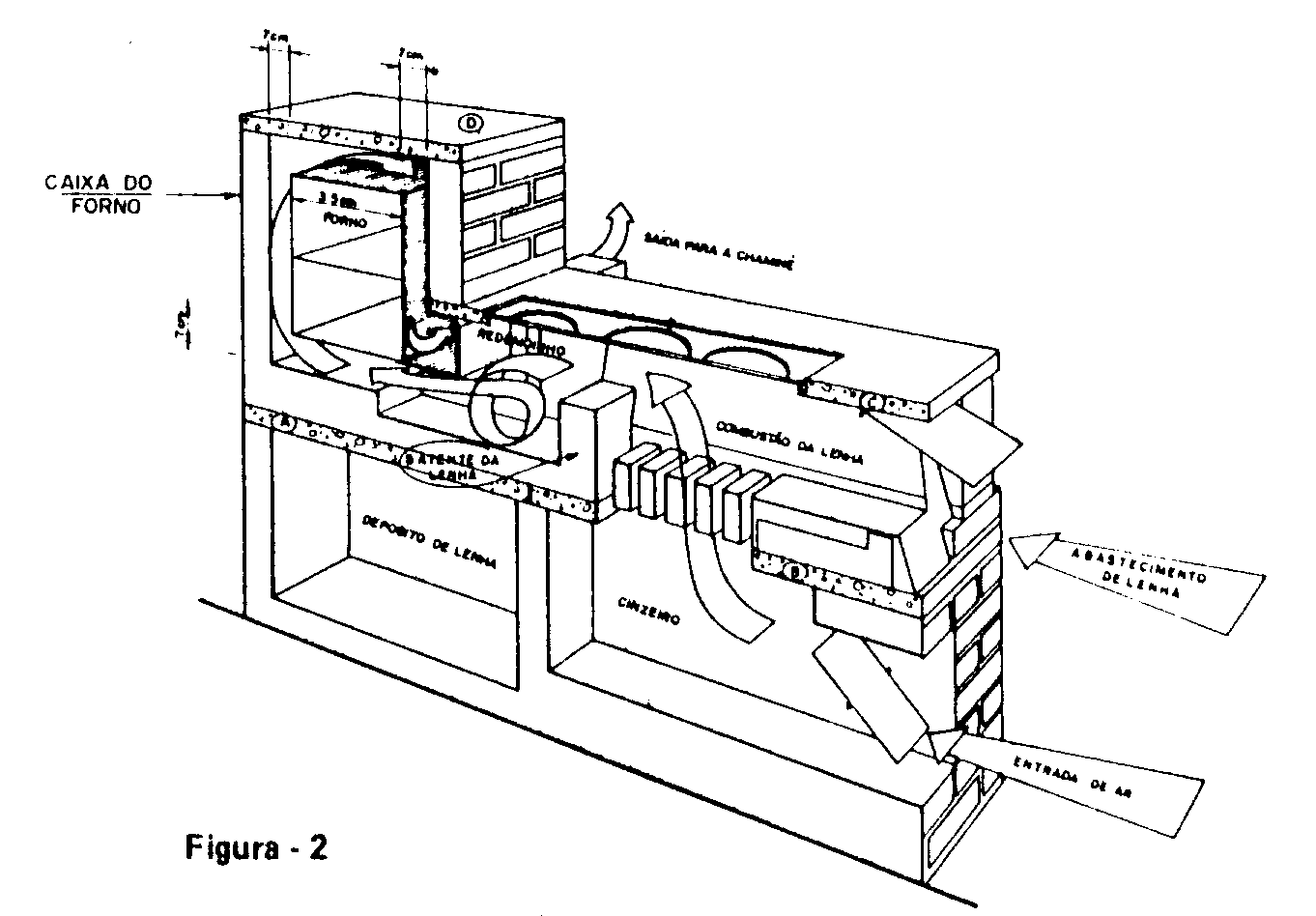 Fogão de Lenha com Projeto da Internet: Construir um Fogão de Lenha  #2B2B2B 1362 948