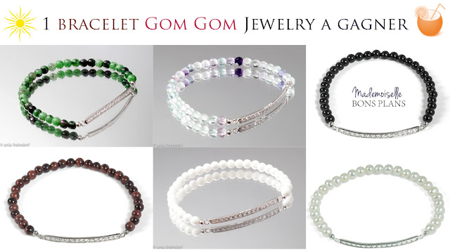 Gom Gom Jewelry et Mademoiselle Bons Plans