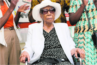 Susannah Mushatt Jones, 116-year old woman