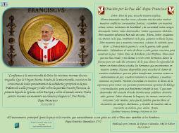 Oración por la Paz del Papa Francisco