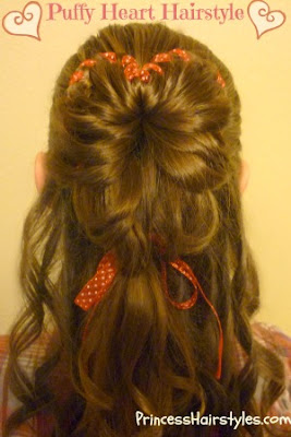 Valentines Day Hairstyle