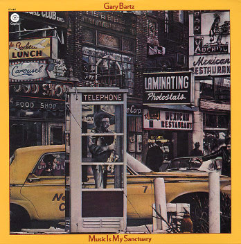 Gary Bartz  1977   Music Is My Sanctuary