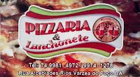 Várzea do Poço: Pizzaria J.G