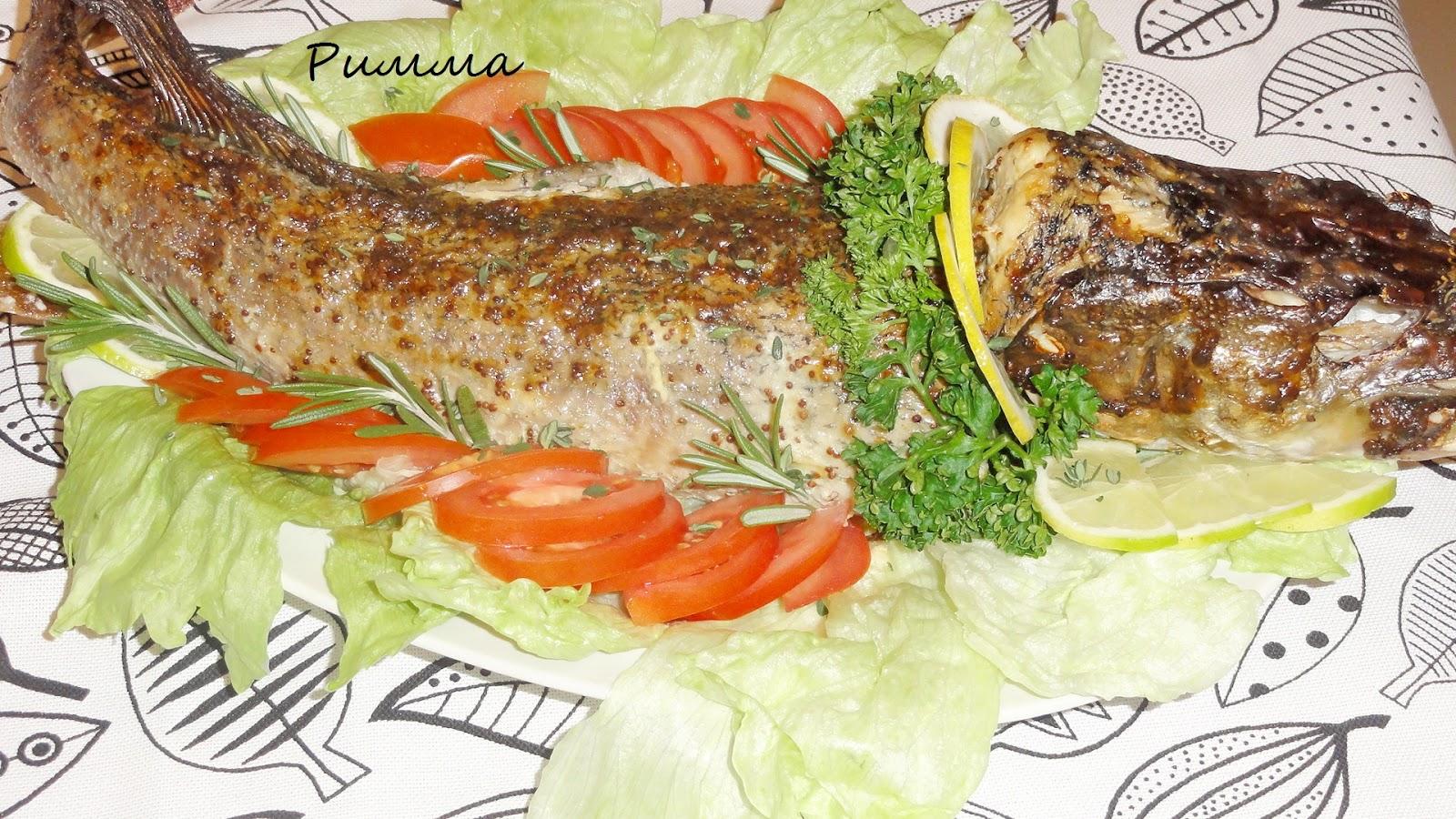 Фаршированная рыба в мультиварке рецепт 80